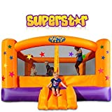 Blast Zone Superstar - Inflatable Bounce House with Blower - Large - Premium Quality - Great For Events - Holds 6 Kids