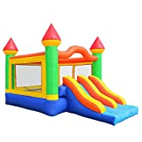 Cloud 9 Commercial Bounce House Mega Double Slide Climbing Wall 100% PVC Inflatable Only
